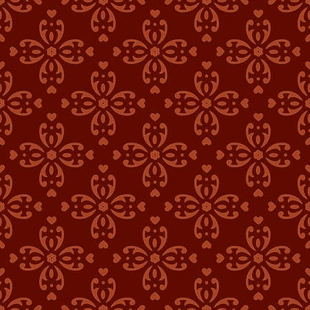 tile able: Classic seamless ornate background. Vector illustration.
