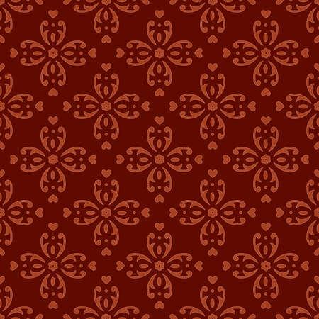 tile able: Classico sfondo ornato senza soluzione di continuit�. Illustrazione vettoriale.