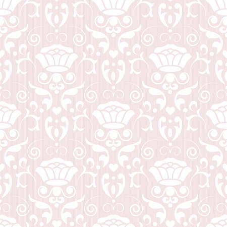 tile able: Classic seamless floral ornate background. Vector illustration.