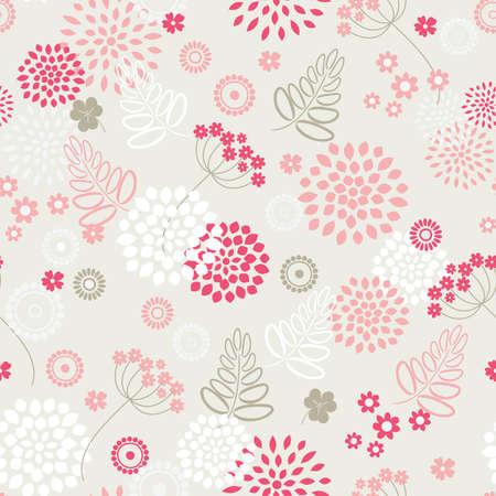 tile able: Giardino fiori ed erbe sfondo senza soluzione di continuit�.