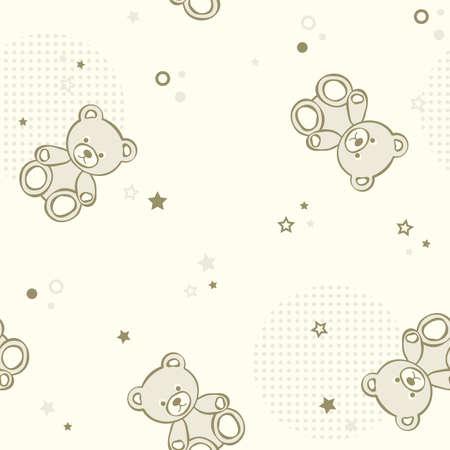 teddy bear: Fondo transparente de osos de peluche. ilustraci�n.
