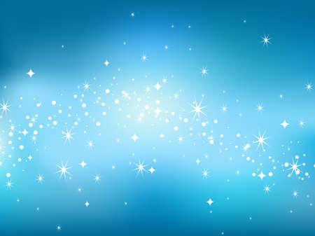 Star sky backgaround. Vector illustration. Illustration