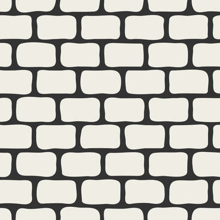 uneven: Abstract brick wall seamless background.