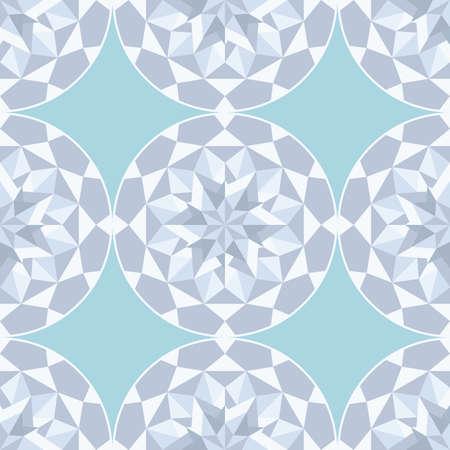 Diamond stone seamless gray background Stock Vector - 15272880