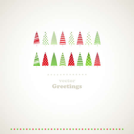 firtrees: Fir-trees winter events background.