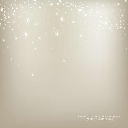luminescence: Abstract luminescence background with stars  Vector illustration