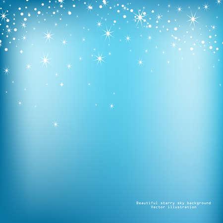 luminescence: Abstract luminescence background in star sky style  Vector illustration   Illustration