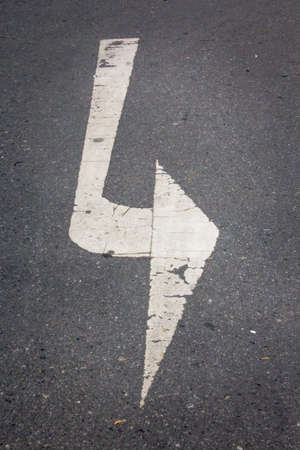 left: arrow symbol , turn left