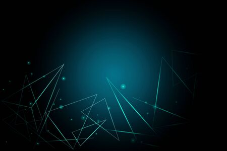 Illustration Futuristic , Abstract technology particle background vector
