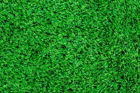 pasto sintetico: césped sintético en el campo de fútbol Foto de archivo