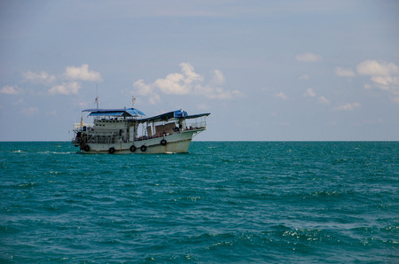 Passenger boat in sea of Thailand