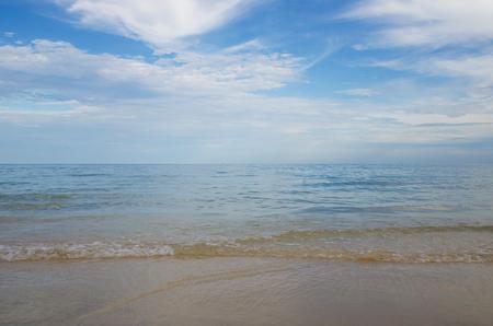 sea sand beach and sky