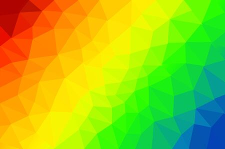 colorful poly background Stock Photo