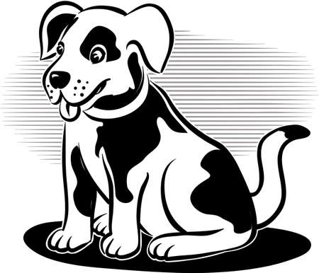 lupus: Cute little dog to pet.