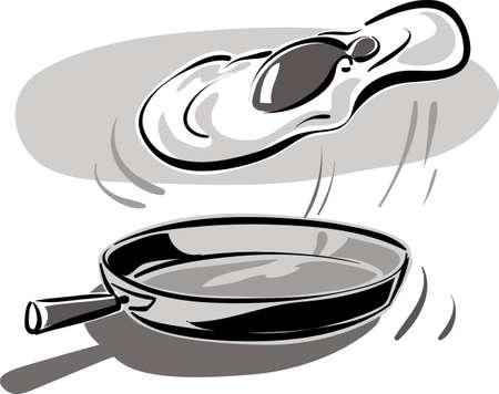 Egg stir-fry.