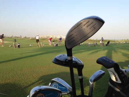 Golf practice photo