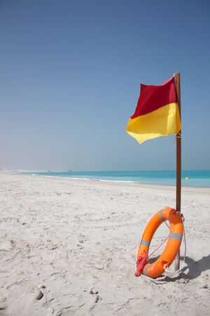 Beach flag photo