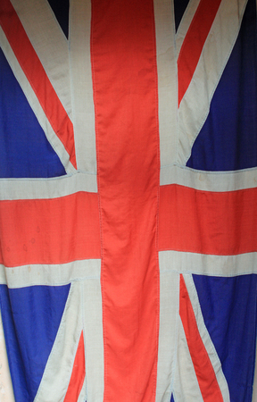 coalition: Background Union Flag or Union Jack symbolizing the United Kingdom, unity and UK military Stock Photo