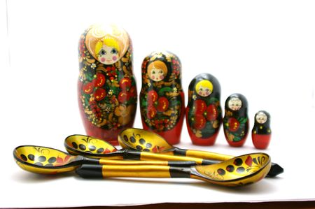 nested: Spoons and nested dolls