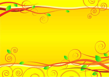 Background symbolizes spring, growth, flowering. Vector illustration.