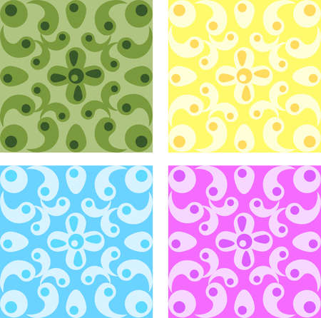 Seamless abstract texture. Vector illustration. Illustration
