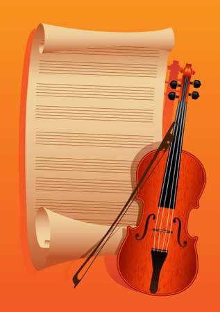 fiddlestick: arco de viol�n y en un documento de antecedentes para las notas se minimiza a rodar