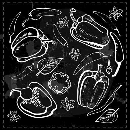 vegetables product label packaging design