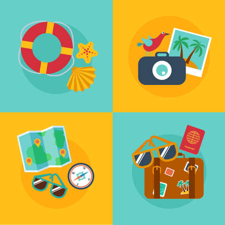 passport background: Concepts and banners  of travel, summer