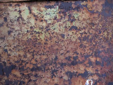 rusty: texture of rusty metal
