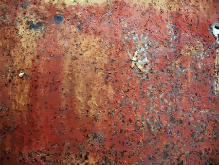 rusty metal: texture of rusty metal