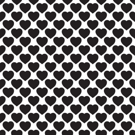 bosom: Monochrome seamless pattern with hearts. Texture for scrapbooking, wrapping paper, textiles, home decor, skins smartphones backgrounds cards, website, web page, textile wallpapers, surface design, fashion, wallpaper, pattern fills.