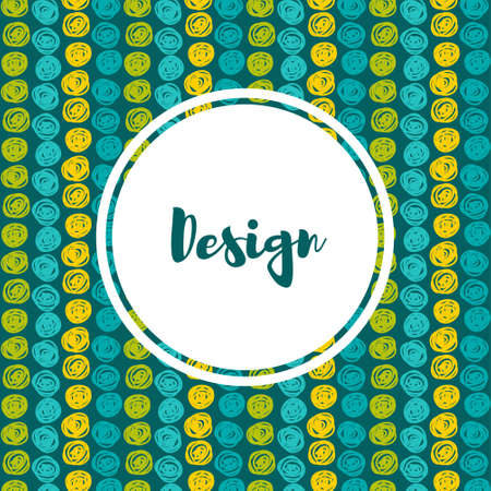 speckle: Vector  hipster backgrounds in blues and greens. Hand drawn style Trend green flash color.