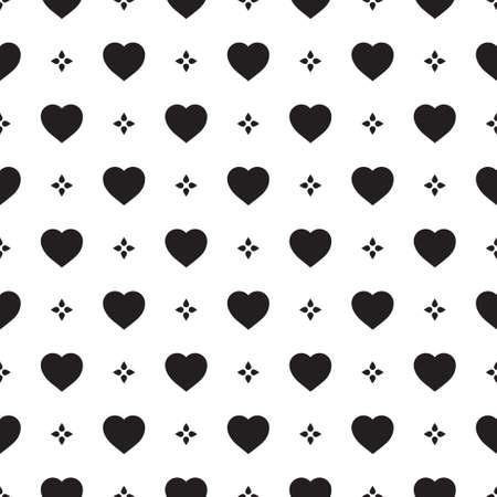 home fashion: Monochrome seamless pattern with hearts. Texture for scrapbooking, wrapping paper, textiles, home decor, skins smartphones backgrounds cards, website, web page, textile wallpapers, surface design, fashion, wallpaper, pattern fills.