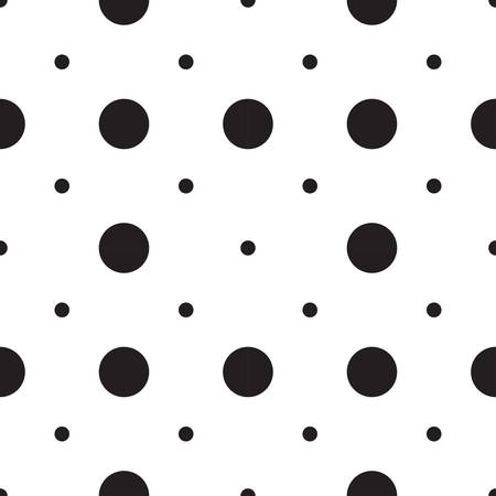 dot surface: Vector seamless patterns with white and black peas (polka dot). Texture for scrapbooking, wrapping paper, textiles, home decor, skins smartphones backgrounds cards, website, web page, textile wallpapers, surface design, fashion, wallpaper, pattern fills. Illustration