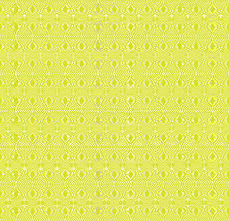 Tangier grid. Seamless green guilloche pattern. Protect documents, certificates, bank notes, certificates