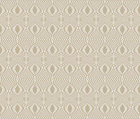 Tangier grid. Seamless gray, monochrome guilloche pattern. Protect documents, certificates, bank notes, certificates, web Illustration