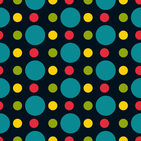speckle: Colored polka dot seamless pattern circle texture