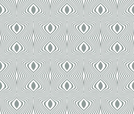 bank notes: Tangier grid. Seamless gray, monochrome guilloche pattern. Protect documents, certificates, bank notes, certificates, web Illustration