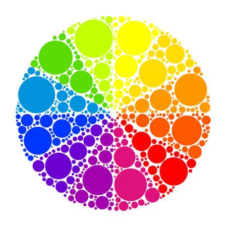 Color wheel or color circle
