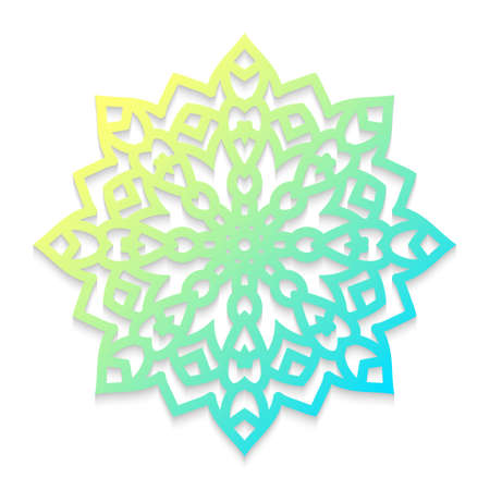 Template snowflakes laser cut and engraved.