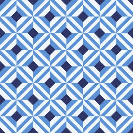 portuguese: Portuguese azulejo tiles. Patterns. Illustration