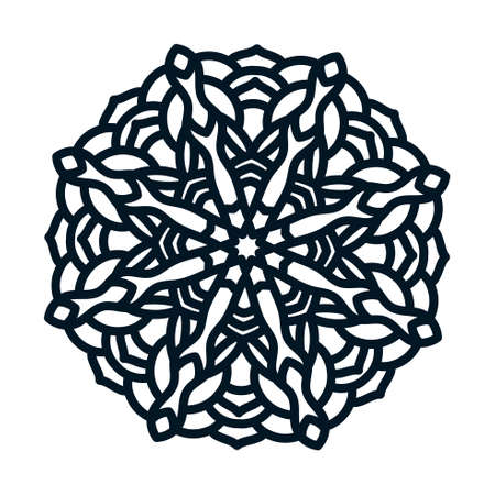 template snowflakes laser cut and engraved royalty free cliparts rh 123rf com White Snowflake Vector Single Snowflake Vector