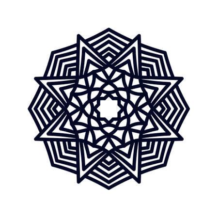 Mandala. Indian wedding meditation.