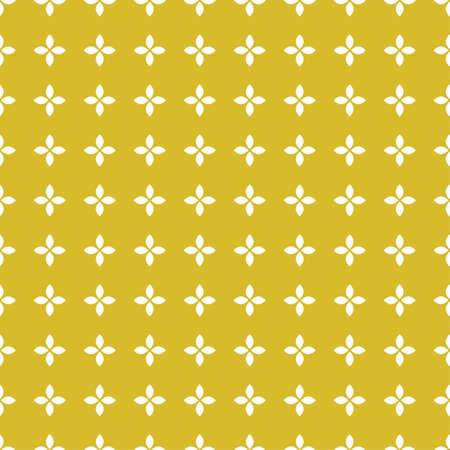 Yellow azulejo tiles. Seamless patterns.