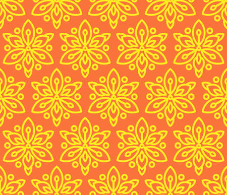 Pattern Seamless with sunflowers.