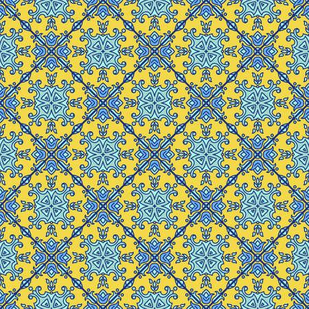 Portuguese azulejo tiles. Blue and white.