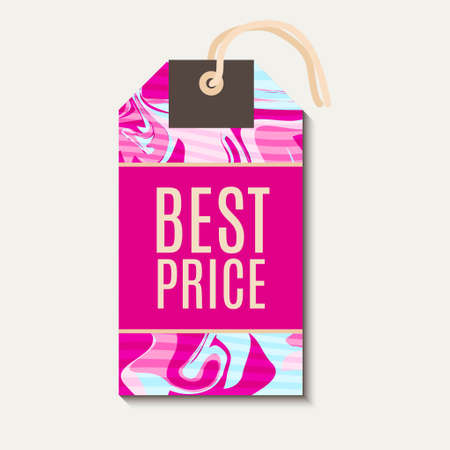 Pink Bright tags with shabbi chick