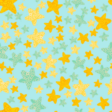 Winter adorn seamless pattern with a Christmas heaven.