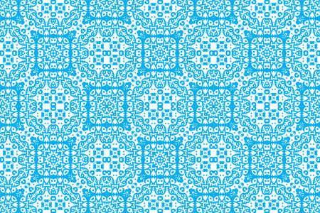 Portuguese azulejo tiles. Encaustic seamless patterns, prints