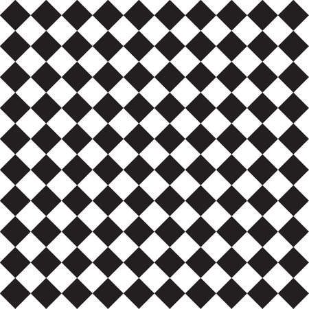 Harlequin vintage or argyle seamless pattern. Vector texture of rhombuses